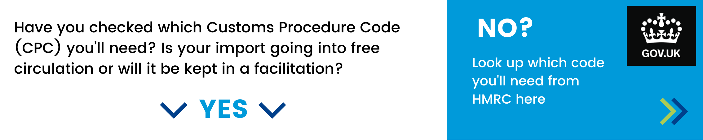 Have you checked which Customs Procedure Code (CPC) you'll need? Is your import going into free circulation or will it be kept in a facilitation? If not - click here to look up which doe you'll need from HMRC