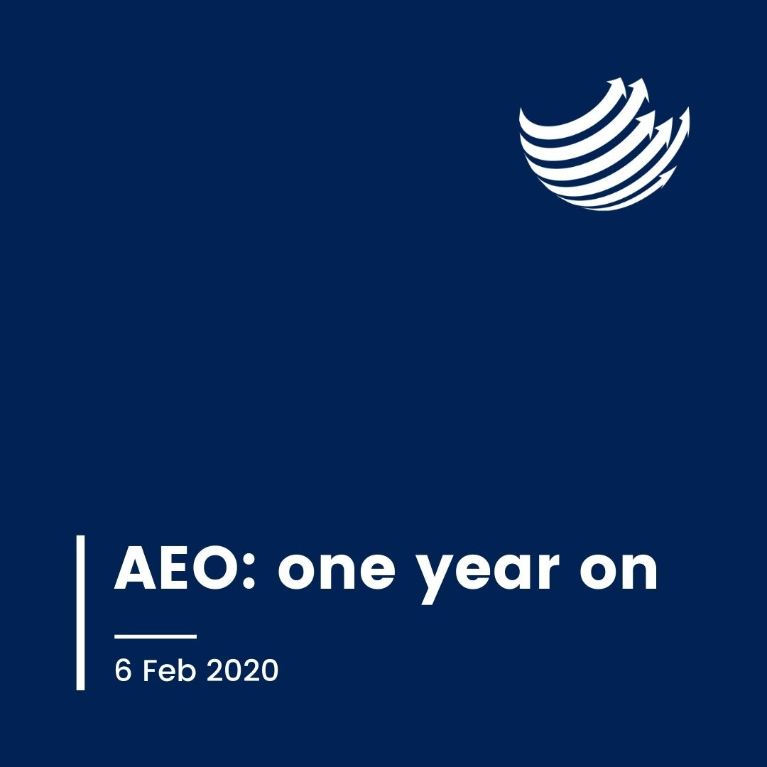 Button - AEO, a year on